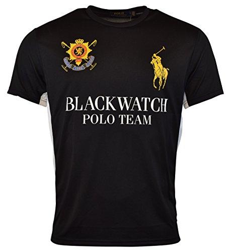 Polo Ralph Lauren Black Watch Performance Jersey Crew-Neck T-Shirt (M)