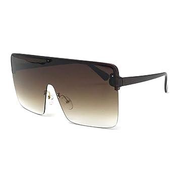 YOGER Gafas De Sol Oversized Shield Visor Sunglasses Women ...