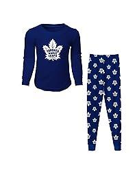 Toronto Maple Leafs Youth Long Sleeve T-Shirt & Pants Sleep Set