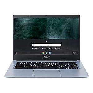 "Acer Chromebook 314, Intel Celeron N4000, 14"" Full HD Display, 4GB LPDDR4, 64GB eMMC, Gigabit WiFi, Google Chrome, CB314-1H-C884"