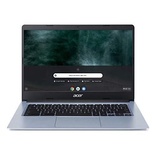 ACER Chromebook CB314-1HT-C1MQ - Ordenador portátil de 14 Pulgadas FHD (Intel Celeron, RAM de 4 GB, eMMC 64 GB, Chrome OS) Teclado AZERTY francés a buen precio