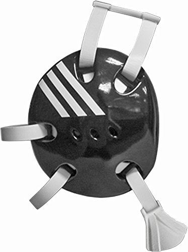 adidas Wrestling Response Protective Headgear, Black/White, Adult Size Headgear
