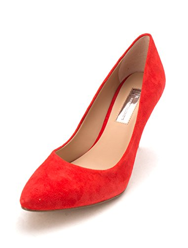 INC International Concepts Womens Zitah Leather Closed Toe Classic Pumps Spring Red hKK66Wb9au