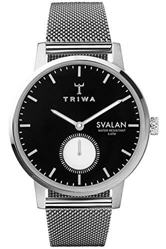 Triwa svalan Womens Analog Japanese Quartz Watch with Stainless Steel Bracelet SVST103MS