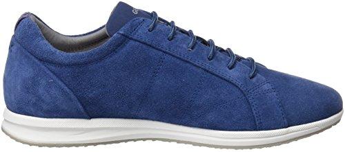 Geox Women's D Avery a Low-Top Sneakers Blue (Denim) 0RHDqn