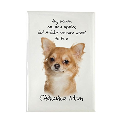 CafePress Chihuahua Mom Rectangle Magnet, 2