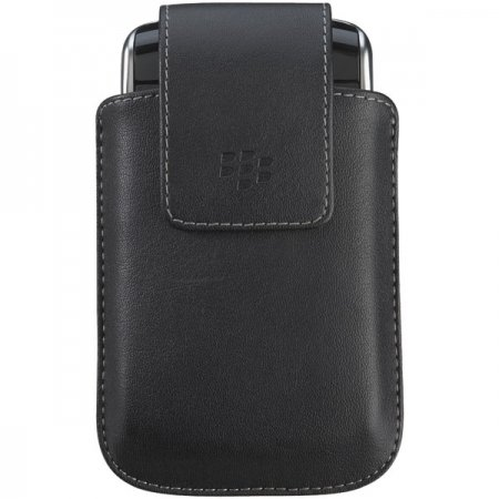 (BlackBerry Synthetic Leather Case with Swivel Belt Clip for BlackBerry Storm 9500,)