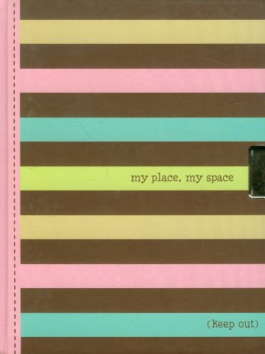 Striped Locking Journal  My Place  My Space  Notebook   2Nd Gen Lock