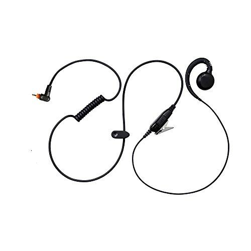 (Maxtop AEH3000-M12 Walkie Talkie Two Way Radio Black Headset Earpiece Mic for Motorola SL1K SL7550 SL4010 SL8050)