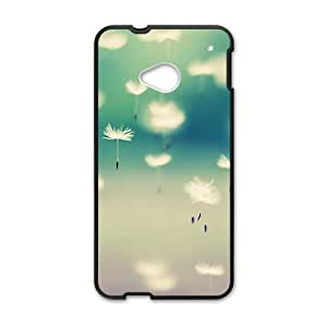Aesthetic dandelion design fashion phone case for HTC One M7