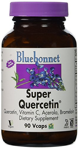 Bluebonnet Super Quercetin - 90 Vegetarian Capsules by Blue Bonnet (Super Bluebonnet Quercetin)