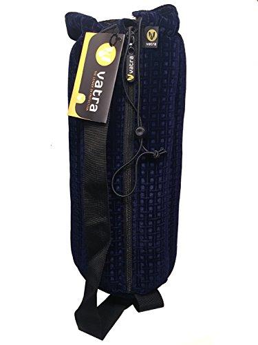 """14"""" Blue Velvet Waterpipe Pipe Case Tube Bag by (Velvet Pipe)"""