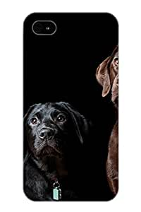 Hard Plastic Iphone 6 plus 5.5 Case Back Cover, Hot Animal Dog Case For Christmas's Perfect Gift