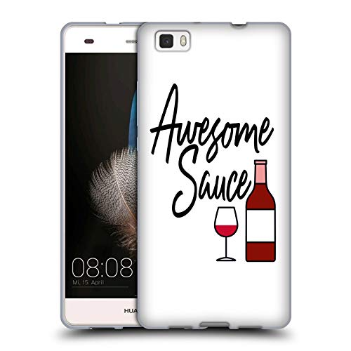 Official EBI Emporium Awesome Sauce Typography Soft Gel Case Compatible for Huawei P8lite / ALE-L21