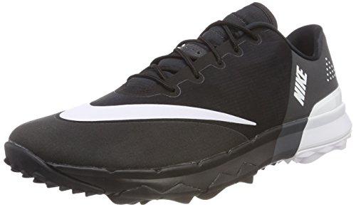 Nike Men's FI Flex Golf Shoes, Black (Black/White/Anthracite), 11.5 US -10.5 UK - 45.5 EU