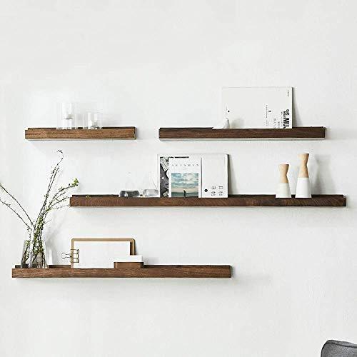 ShiSyan Modern Wood Floating Wall Shelf Decor Floating Shelves Wall Mounted Set of 4 for Bedroom Living Room Home…