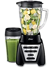 Oster Pro 1200 Plus Blender with Smoothie Cup, Black - BLSTMB-BBG1-033