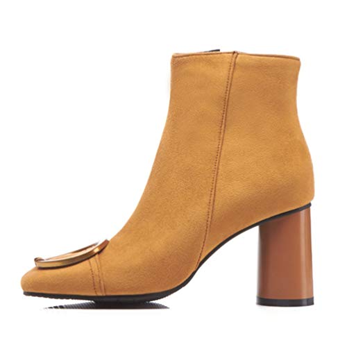 Stivali Stivali Stivali Caldi Sexy Brown e Autunno Inverno AIKAKA Donne Donne Donne Corti e Europa America q8SAxB1