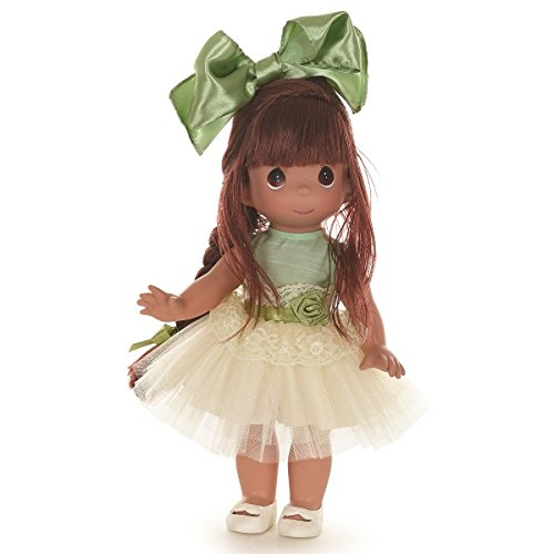 Precious Moments Dolls by The Doll Maker, Linda Rick, Tu-Tu Gorgeous Ballerina, Brunette, 12 inch - Moments Precious Doll Vinyl