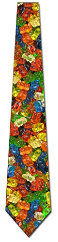 Gummy Bear Ties Mens Candy Mens Neck Tie by Three Rooker