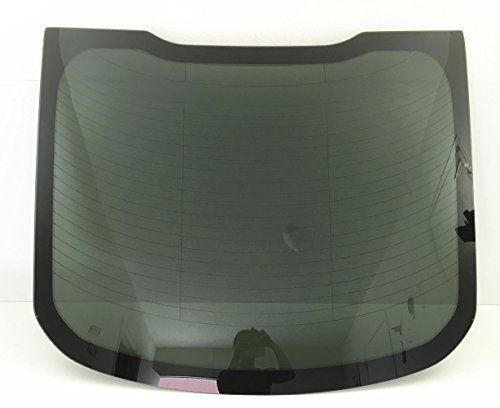 NAGD for 2015-2018 Ford Mustang 2 Door Coupe Back Window Glass Replacement Heated Dark Tinted ()