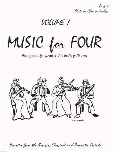 Livres à téléchargement gratuit de Google Music for Four, Volume 1 - Part 1 (Violin/Oboe/Flute) - arranged by Daniel Kelley PDF RTF