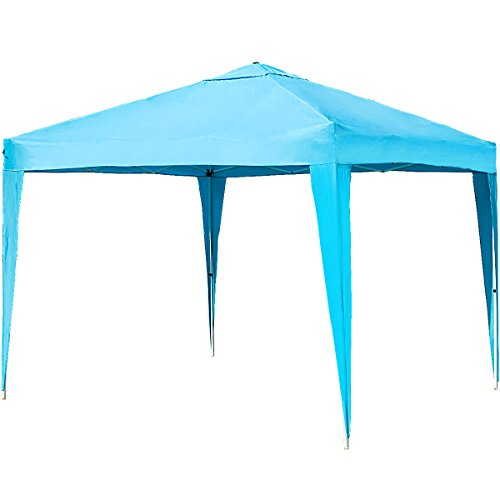 Merax Patio Easy Pop-Up Canopy Tent 10 x 10 FT Portable Folding Canopy