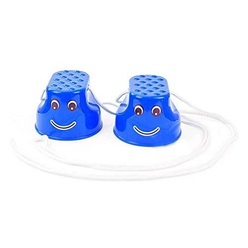 Ogquaton 1 par de ni/ños espesar zancos de pl/ástico juguete de entrenamiento de sentido de equilibrio