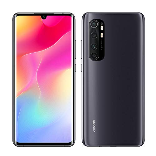 "Celular Xiaomi Mi Note 10 Lite Versão Global/Dual/Tela 6.47"" / 128gb / 6gb Ram - Midnight Black"