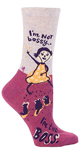 blue-q-socks-womens-crew-im-not-bossy-im-the-boss-size-5-10