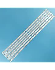 """Replacement Part for TV LED Backlight Strip 8 Lamp for TCL 65""""TV JL.D65081330-365AS-M_V03 65S421LCAA 4C-LB6508-PF02J 65S421 65S425TACA 65HR330M08A1 - (Type: 6 Pieces)"""