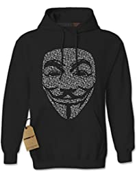 V for Vendetta / Guy Fawkes Mask Unisex Adult Hoodie