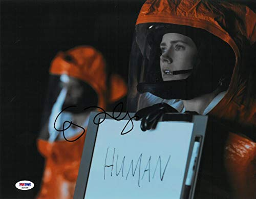 Amy Adams Signed Arrival Authentic Autographed 11x14 Photo PSA/DNA #AE84308
