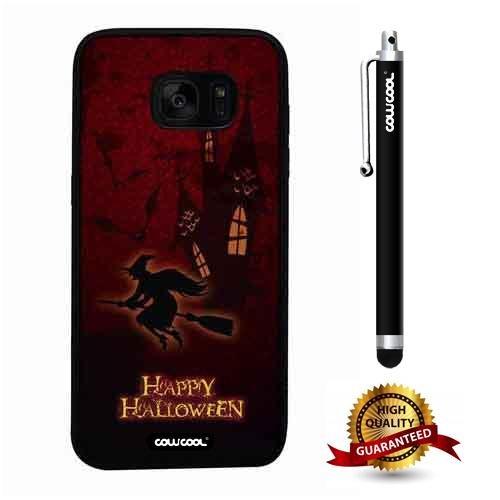 Galaxy S7 edge Case, Halloween Case, Cowcool Ultra Thin Soft Silicone Case for Samsung Galaxy S7 edge - Halloween -