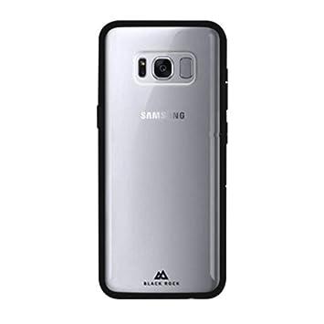 Black Rock Manos Libres - Carcasa para Samsung Galaxy S8, Transparente