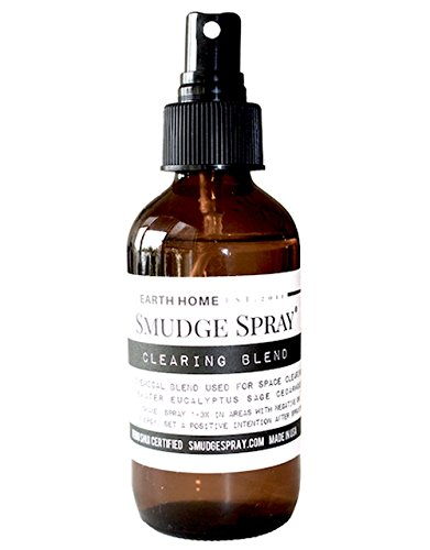 Earth Home Smudge Spray - Space Cleanser and Purifier, All-Natural Formulation - 4 Ounces by home on earth (Image #3)