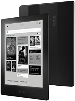 Kobo Aura HD - E-Reader (Negro, USB 2.0, DEU, DUT, Eng, ESP, Eng ...