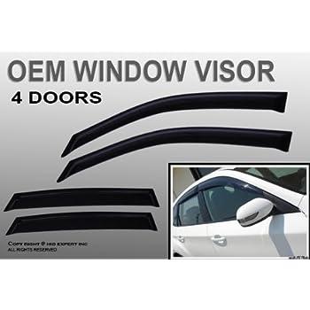 Windows Visor Out-Channel Sun Guard 4pcs 2007-2012 Dodge Caliber Hatchback