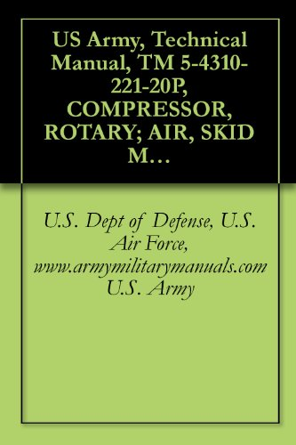 (US Army, Technical Manual, TM 5-4310-221-20P, COMPRESSOR, ROTARY; AIR, SKID MTD, GASOLINE DRIVEN; 125 CFM, 10, (INGERSOLL-RAND MODEL GER-125), SERIAL NOS. ... military manauals, special forces)