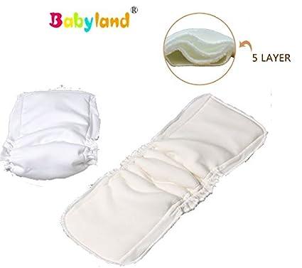 babyfriend * * 5 Pack de ahorro caño – Dry Efecto * * Bamboo Noche Einlage