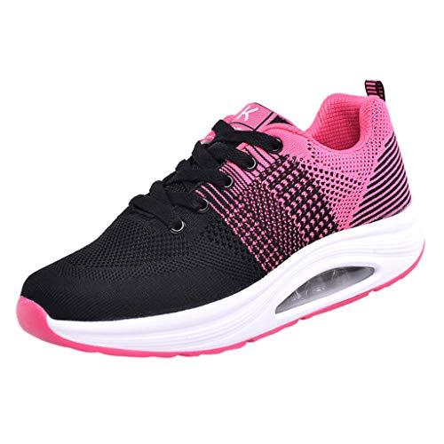 Net Para 007 Running Rosa Logobeing Cojines Zapatos Zapatillas Calzado Con Mujer 35 Estudiante Deportivas Volar Sneakers Gimnasia 41 De Deporte Aire Tejidos g80zw81qx