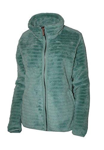 - Columbia Women's Campfire Sherpe Full Zip Fleece Jacket, Dusty Green (Large)