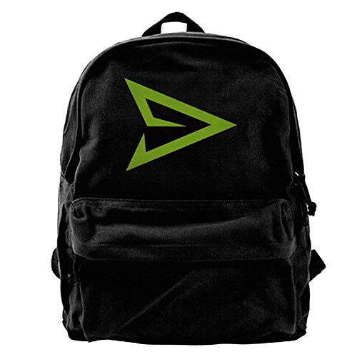 Arrow Emblem Logo Canvas Backpack Travel Bag B1