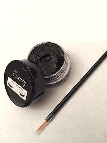 Magnetic Eyeliner to use with Magnetic Eyelashes - Includes Application Brush (Black)