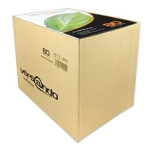 Versando Copier Paper-White High White 80 - Optimised Packaging