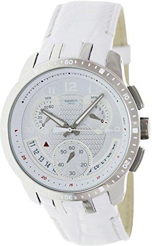 Swatch Irony Retrograde Cold Hour White Chrono Men's watch (Irony Chrono Watch)