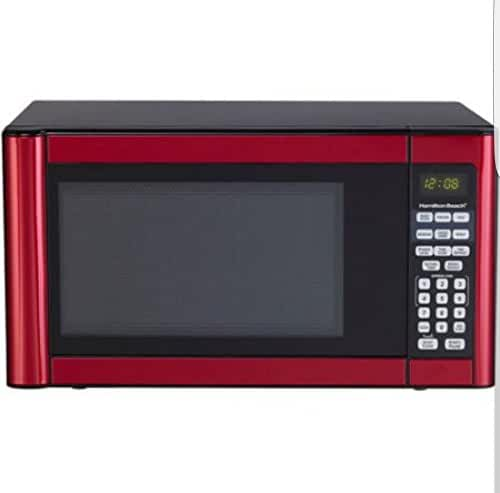 Hamilton Beach Red 0.7 cu Microwave