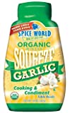 Spice World Organice Squeeze Garlic 20 Oz (Pack of 3)
