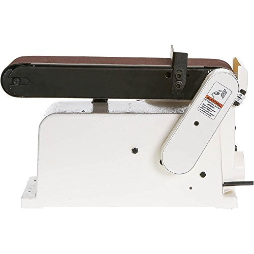 Shop Fox W1855 Horizontal/Vertical Belt Sander With 6″ Disc