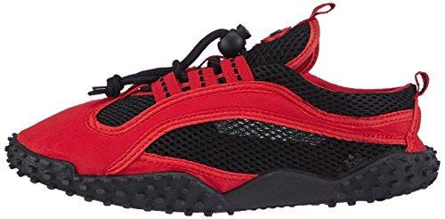 Et 8 Aqua Chaussures red Piscine Adultes Plage Unisexe Playshoes Rouge fqRAHH